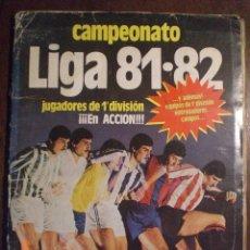 Álbum de fútbol completo: CAMPEONATO LIGA 81-82. Lote 33558115