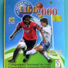 Álbum de fútbol completo: FICHERO - MUNDICROMO LIGA 1999-2000, 99-00 - COMPLETA, 704 FICHAS, LEER Y VER DENTRO. Lote 33603188