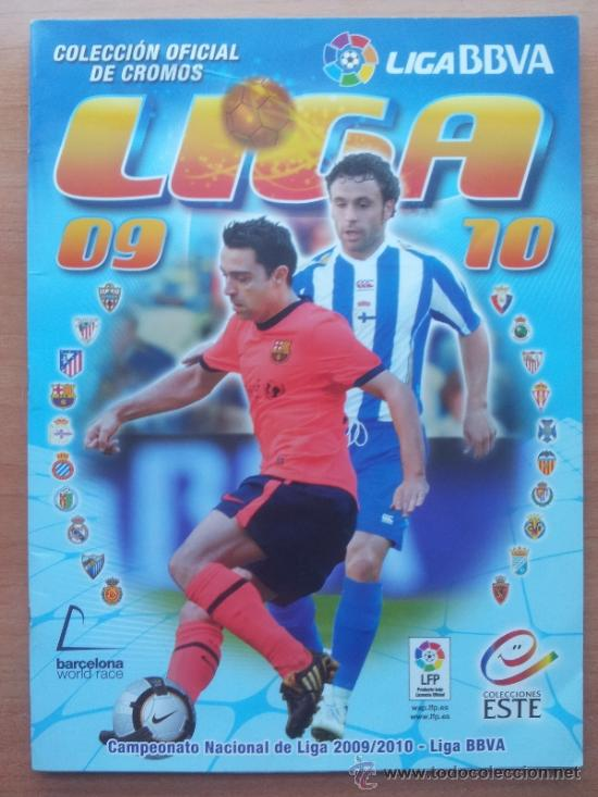 Álbum de fútbol completo: COLECCION COMPLETA LIGA ESTE 2009-2010 PANINI - ALBUM VACIO + CROMOS SIN PEGAR 09 10 - Foto 2 - 64777517