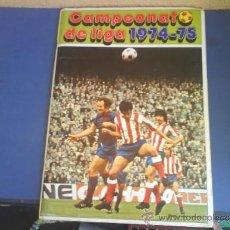 Álbum de fútbol completo: CAMPEONATO DE LIGA 1974-75 ED. FHER. Lote 33692340
