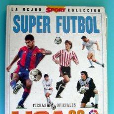 Álbum de fútbol completo: MUNDICROMO LIGA 96, 95-96, COMPLETA 455 FICHAS. Lote 33694170