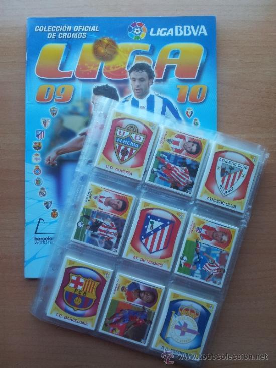 COLECCION COMPLETA LIGA ESTE 2009-2010 PANINI - ALBUM VACIO + CROMOS SIN PEGAR 09 10 (Coleccionismo Deportivo - Álbumes y Cromos de Deportes - Álbumes de Fútbol Completos)