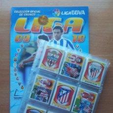 Álbum de fútbol completo: COLECCION COMPLETA LIGA ESTE 2009-2010 PANINI - ALBUM VACIO + CROMOS SIN PEGAR 09 10. Lote 64777517