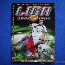 Álbum de fútbol completo: ALBUM EDICIONES ESTE 2006-07, 06-07. COMPLETO.... Lote 33734919