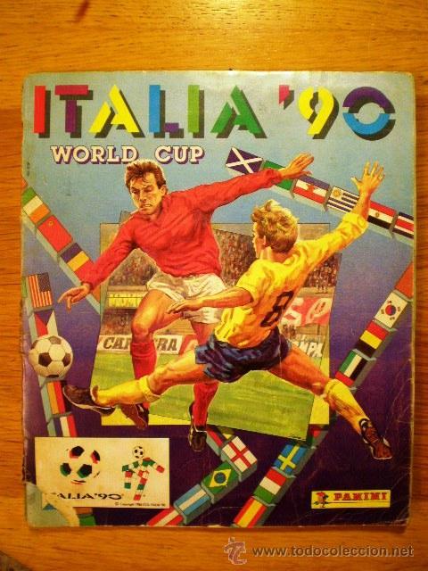 ÁLBUM COLECCIÓN DEL MUNDIAL 'ITALIA 90' (PANINI) * ¡COMPLETO! (Coleccionismo Deportivo - Álbumes y Cromos de Deportes - Álbumes de Fútbol Completos)