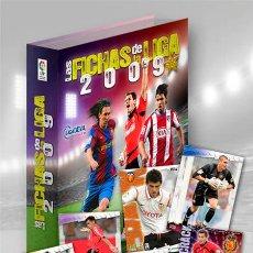 Álbum de fútbol completo: MUNDICROMO,LAS FICHAS DE LA LIGA 2009:COLECCION COMPLETA , 1ª DIVISION . SIN ARCHIVADOR. Lote 33909393