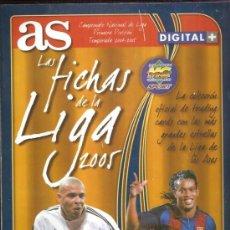 Álbum de fútbol completo: ALBUM AS LAS FICHAS DE LA LIGA 2005 . Lote 34096411