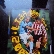 Álbum de fútbol completo: ALBUM LIGA 2001 2002. Lote 34497885