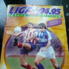 Álbum de fútbol completo: ALBUM COMPLETO LIGA 94 - 95. Lote 35848008