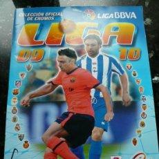 Álbum de fútbol completo: ALBUM COMPLETO LIGA 2009 - 2010. Lote 35848170