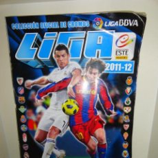 Álbum de fútbol completo: ALBUM LIGA BBVA 2011-2012 ESTE PANINI COMPLETO. Lote 35969257