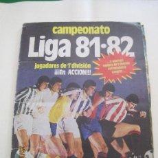 Álbum de fútbol completo: CAMPEONATO. LIGA 81-82-EDICIONES ESTE. Lote 35937229