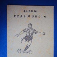 Álbum de fútbol completo: (AL-111)ALBUM CROMOS FUTBOL REAL MURCIA DEPORTES E INSTRUCCIÓN. VALENCIANA 1941(COMPLETO). Lote 36011841