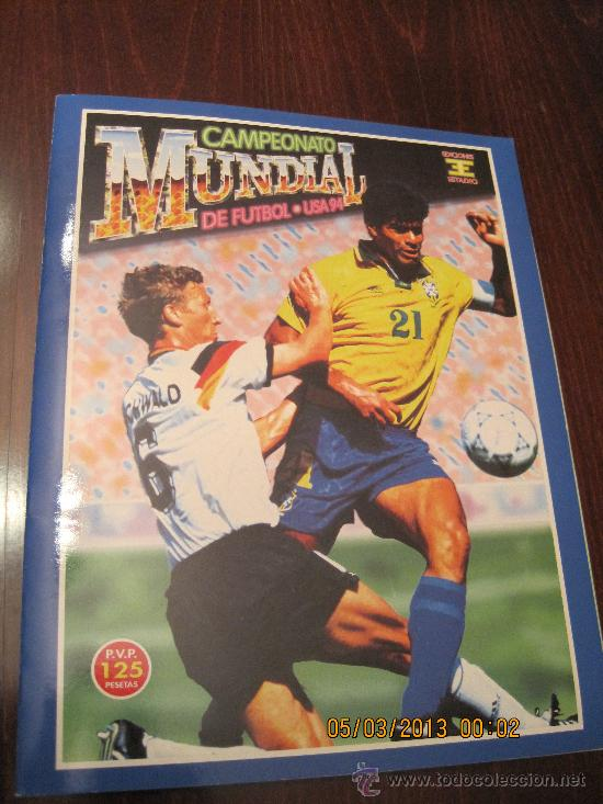CAMPEONATO MUNDIAL DE FUTBOL-USA 94- EDICIONES ESTADIO (Coleccionismo Deportivo - Álbumes y Cromos de Deportes - Álbumes de Fútbol Completos)