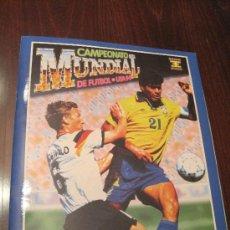 Álbum de fútbol completo: CAMPEONATO MUNDIAL DE FUTBOL-USA 94- EDICIONES ESTADIO. Lote 36281166