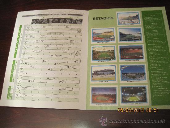 Álbum de fútbol completo: Campeonato Mundial de Futbol-USA 94- Ediciones Estadio - Foto 2 - 36281166