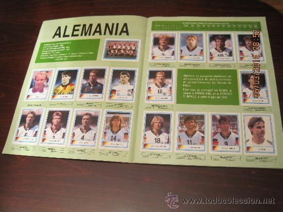 Álbum de fútbol completo: Campeonato Mundial de Futbol-USA 94- Ediciones Estadio - Foto 3 - 36281166