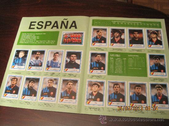 Álbum de fútbol completo: Campeonato Mundial de Futbol-USA 94- Ediciones Estadio - Foto 4 - 36281166