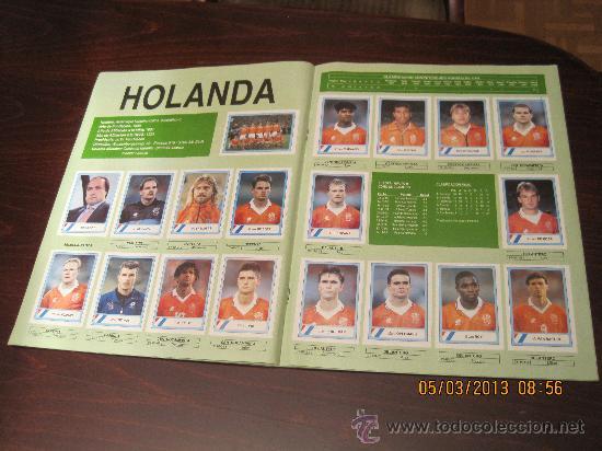 Álbum de fútbol completo: Campeonato Mundial de Futbol-USA 94- Ediciones Estadio - Foto 5 - 36281166