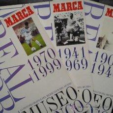Álbum de fútbol completo: REAL MADRID -MUSEO BLANCO -3 ALBUMES .COMPLETOS LOS TRES.. Lote 36449079