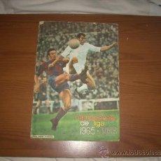 Álbum de fútbol completo: ALBUM DE LA LIGA 1965-66 DE FHER ,UNA JOYA UNICA. Lote 36587222