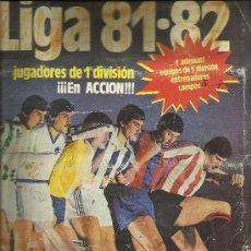 Álbum de fútbol completo: CAMPEONATO LIGA 81-82 DE ESTE. Lote 36670746