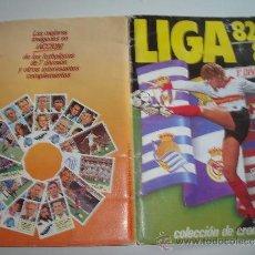 Álbum de fútbol completo: ALBUM CROMOS LIGA 82-83 COMPLETO VER FOTOS. Lote 36685273