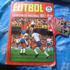 Álbum de fútbol completo: RUIZ ROMERO 1977 1978 77 78 COMPLETO. Lote 36774993