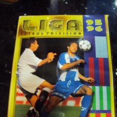 Álbum de fútbol completo: ALBUM COMPLETO LIGA 95 - 96. Lote 37089297