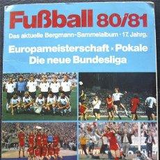 Álbum de fútbol completo: ALBUM DE CROMOS BERGMANN BUNDESLIGA 1980-81 - ALEMANIA - 100% COMPLETO. Lote 37862302