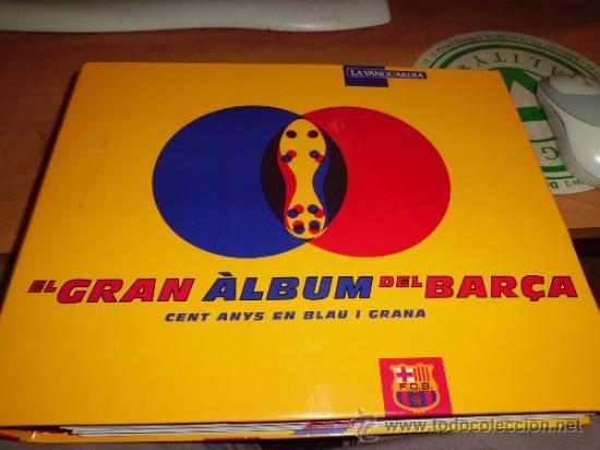 EL GRAN ALBUM DEL BARÇA COMPLETO AÑO 1999 150PGS FICHAS COLECCIONABLES (Coleccionismo Deportivo - Álbumes y Cromos de Deportes - Álbumes de Fútbol Completos)