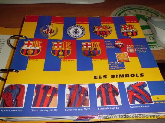 Álbum de fútbol completo: el gran album del barça completo año 1999 150pgs fichas coleccionables - Foto 8 - 37959640