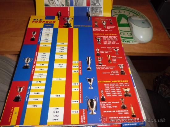 Álbum de fútbol completo: el gran album del barça completo año 1999 150pgs fichas coleccionables - Foto 7 - 37959640