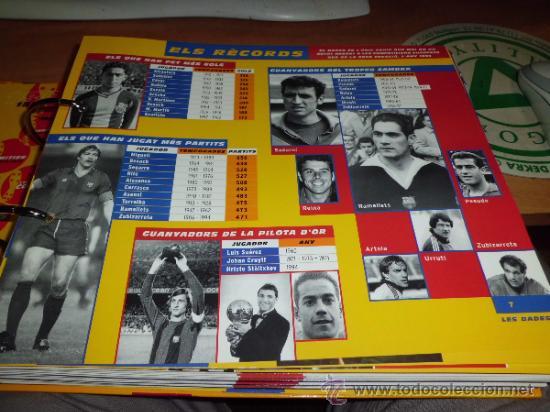 Álbum de fútbol completo: el gran album del barça completo año 1999 150pgs fichas coleccionables - Foto 6 - 37959640