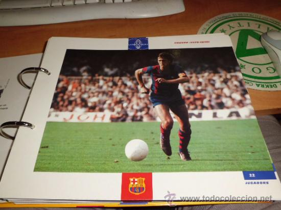 Álbum de fútbol completo: el gran album del barça completo año 1999 150pgs fichas coleccionables - Foto 5 - 37959640