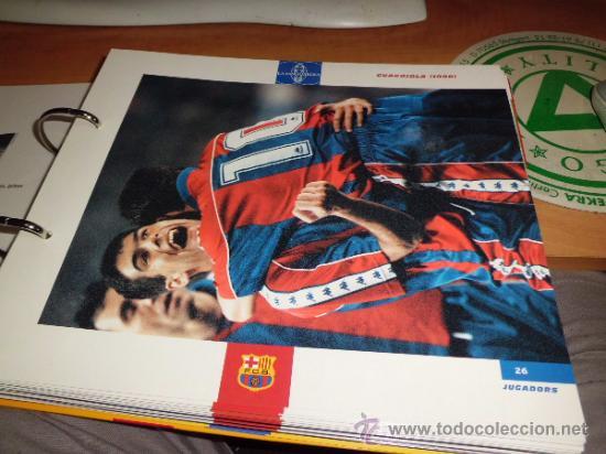 Álbum de fútbol completo: el gran album del barça completo año 1999 150pgs fichas coleccionables - Foto 3 - 37959640