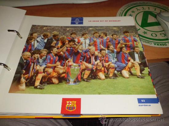 Álbum de fútbol completo: el gran album del barça completo año 1999 150pgs fichas coleccionables - Foto 2 - 37959640