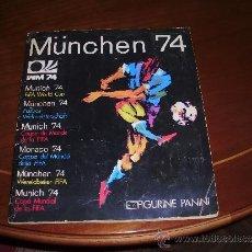 Álbum de fútbol completo: ALBUM CROMOS COMPLETO , MUNCHEN 74, 1974 MUNDIAL FUTBOL PANINI. Lote 38072691