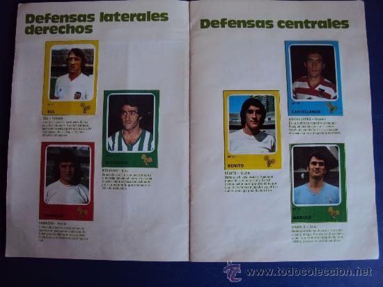 Álbum de fútbol completo: (AL-638)ALBUM CROMOS CRUYFF Y LOS COLOSOS DE ESTA LIGA DE CROPAN(COMPLETO) - Foto 3 - 38170404