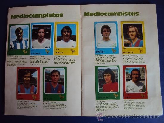Álbum de fútbol completo: (AL-638)ALBUM CROMOS CRUYFF Y LOS COLOSOS DE ESTA LIGA DE CROPAN(COMPLETO) - Foto 5 - 38170404