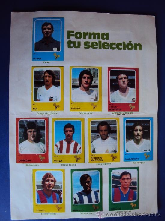 Álbum de fútbol completo: (AL-638)ALBUM CROMOS CRUYFF Y LOS COLOSOS DE ESTA LIGA DE CROPAN(COMPLETO) - Foto 6 - 38170404