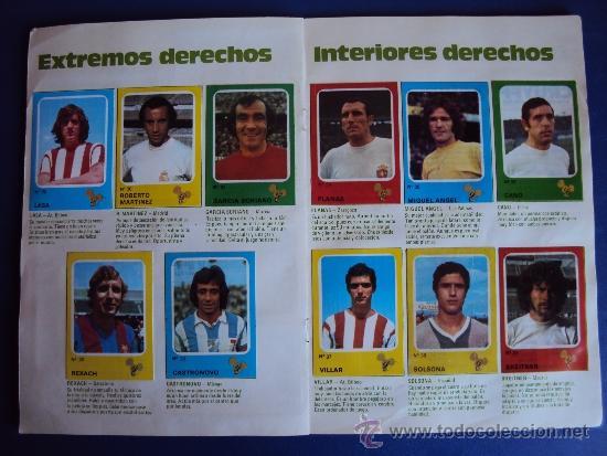 Álbum de fútbol completo: (AL-638)ALBUM CROMOS CRUYFF Y LOS COLOSOS DE ESTA LIGA DE CROPAN(COMPLETO) - Foto 7 - 38170404