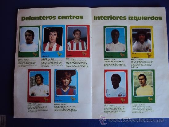 Álbum de fútbol completo: (AL-638)ALBUM CROMOS CRUYFF Y LOS COLOSOS DE ESTA LIGA DE CROPAN(COMPLETO) - Foto 8 - 38170404