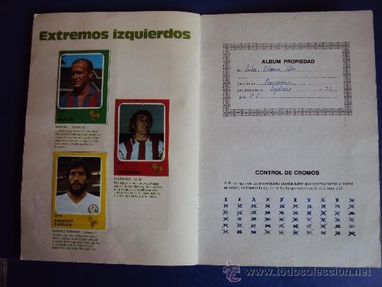 Álbum de fútbol completo: (AL-638)ALBUM CROMOS CRUYFF Y LOS COLOSOS DE ESTA LIGA DE CROPAN(COMPLETO) - Foto 10 - 38170404
