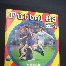 Álbum de fútbol completo: ALBUM DE CROMOS COMPLETO - FUTBOL 88 - PANINI - . Lote 38325883