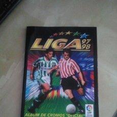 Álbum de fútbol completo: ALBUM LIGA 1997-98 COMPLETO EDICIONES ESTE - EDICIÓN FACSIMIL (SALVAT) - 97-98. Lote 38899477