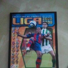 Álbum de fútbol completo: ALBUM LIGA 2005-06 COMPLETO EDICIONES ESTE - EDICIÓN FACSIMIL (SALVAT) - 05-06. Lote 38899771