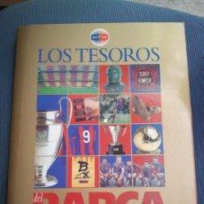 Álbum de fútbol completo: ALBUM LOS TESOROS DEL BARÇA - COMPLETO - EL MUNDO DEPORTIVO - AÑO 1999 - BARCELONA. Lote 38937216
