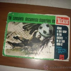 Álbum de fútbol completo: ALBUM DE LA LIGA 1966-67 DE EL ALCAZAR COMPLETO. Lote 38967835