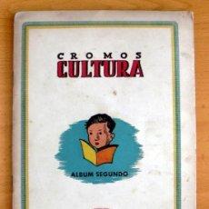 Álbum de fútbol completo: CROMOS CULTURA ALBUM SEGUNDO - EDITORIAL BRUGUERA 1942 - COMPLETO - VER FOTOS INTERIORES. Lote 39007931
